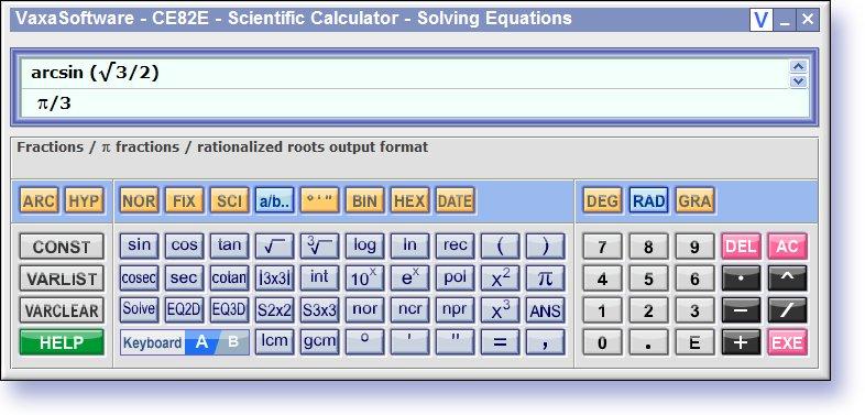 Scientific Calculator CE82E