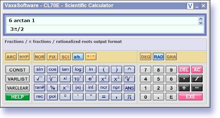 FREE Scientific Calculator CL70E