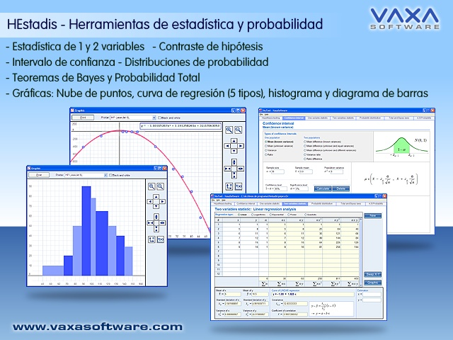 HEstadis - Estadistica y Probabilidad Screen shot